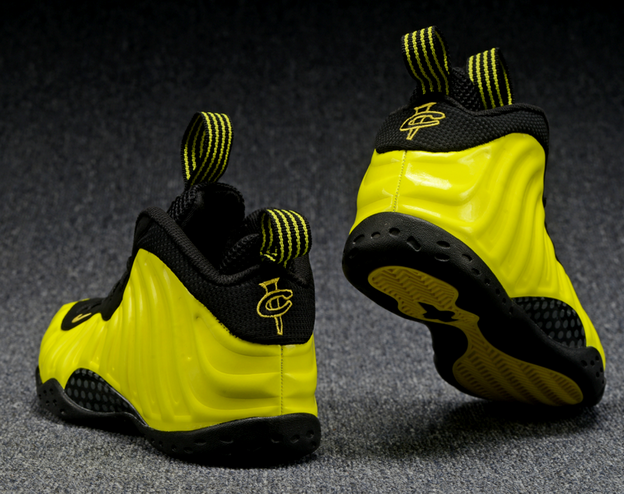 Air Foamposite One 2016 Shoes Yellow/Black